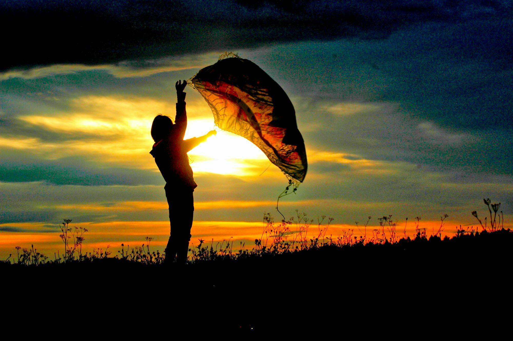 Zachód słońca w Bieszczadach / fot. Lidia Tul-Chmielewska