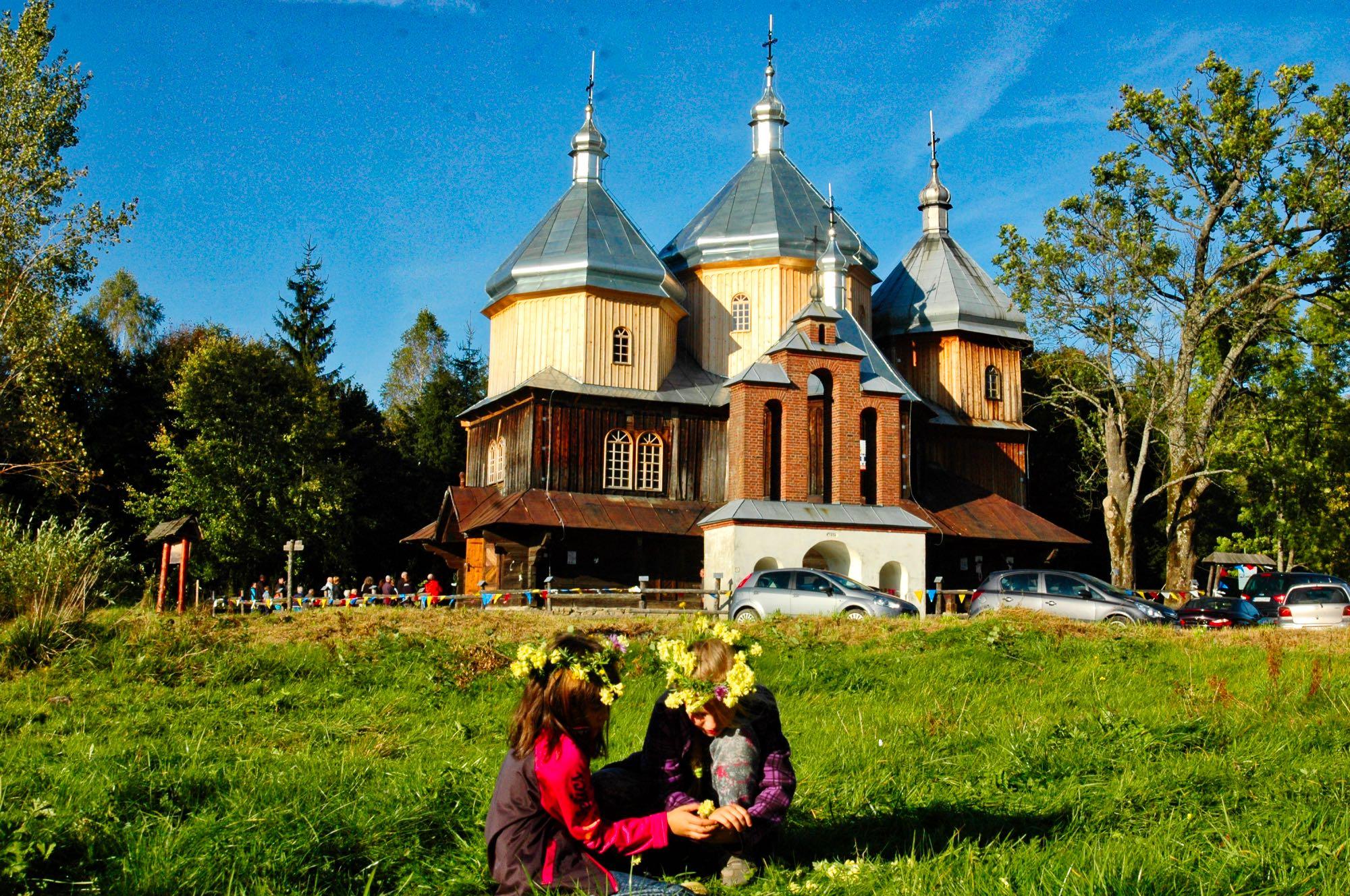 Bystre - cerkiew / fot. Lidia Tul-Chmielewska