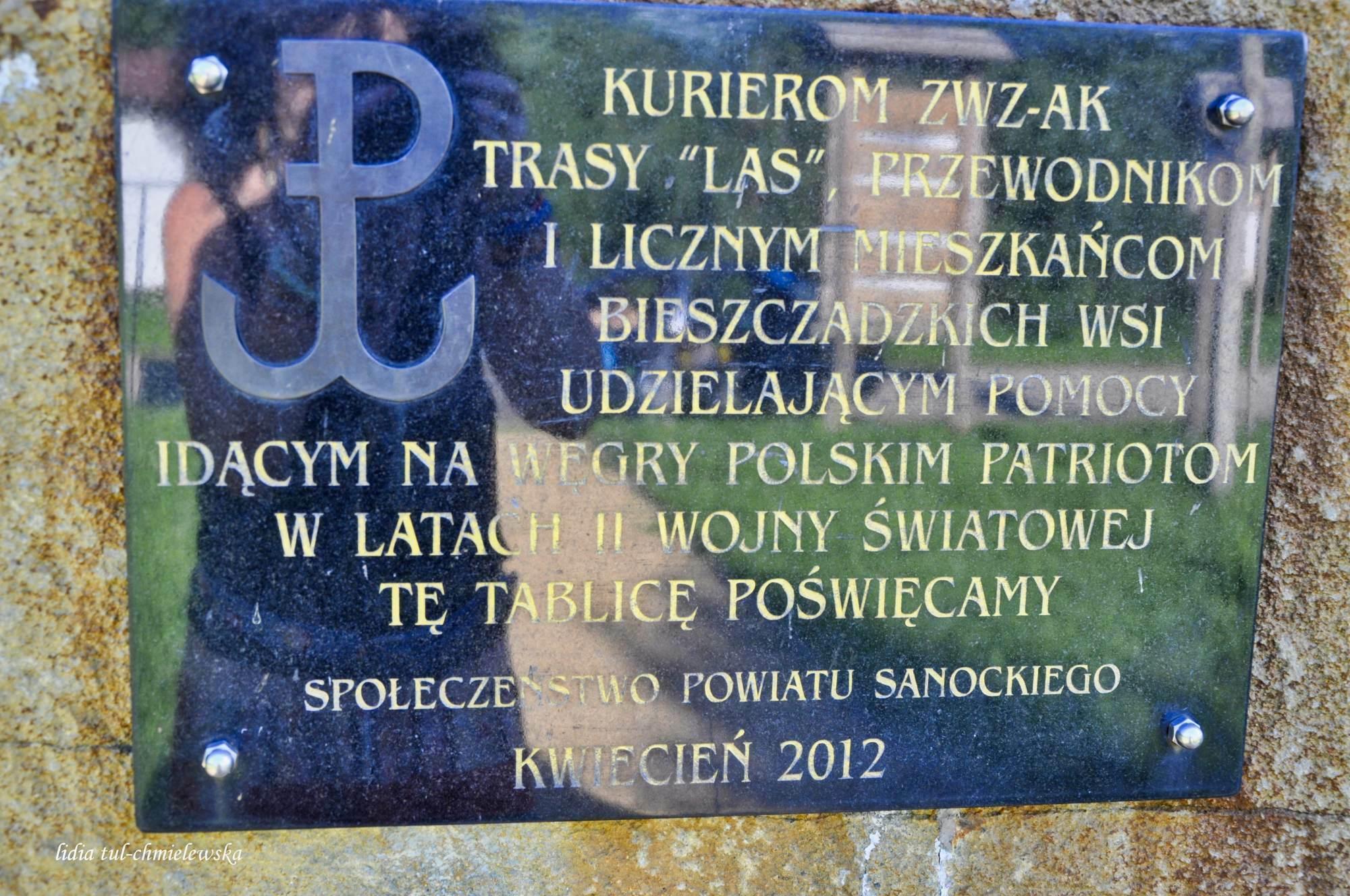 Balnica_pomnik poświęcony Kurierom ZWZ-AK  4.2 (2)(0)_24