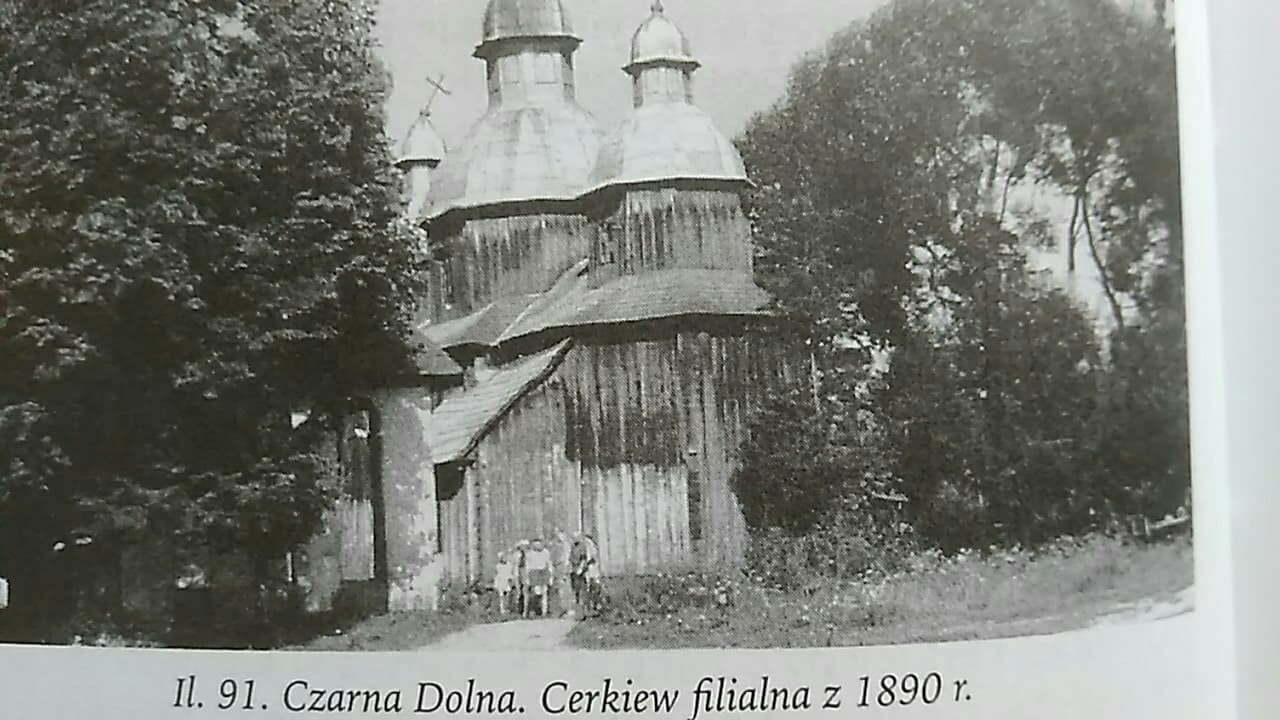 Czarna Dolna - Cerkiew, Bieszczady