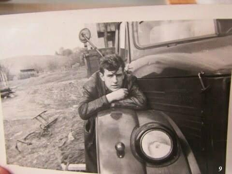 Ja i ten sam samochód Gaz 51 / fot. Archiwum Lesława Grabowskiego