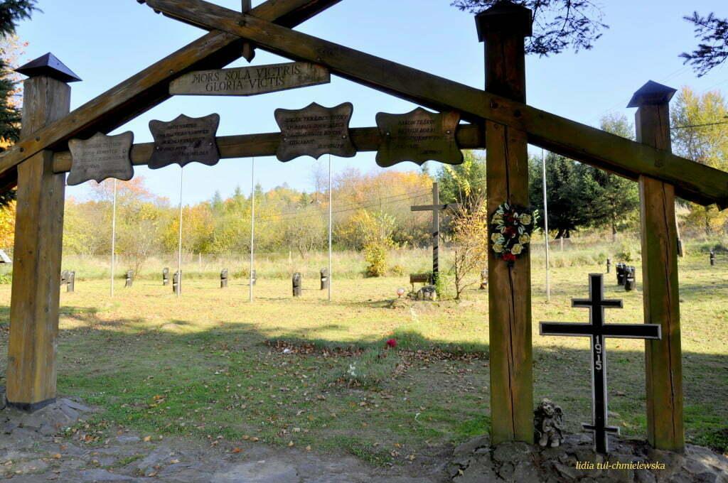 cmentarz wojenny Lesko /fot. Lidia Tul-Chmielewska