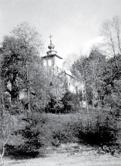 Rajskie / archiwum cerkiew