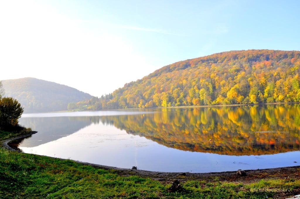 Jezioro Myczkowskie fot/Lidia Tul-Chmielewska