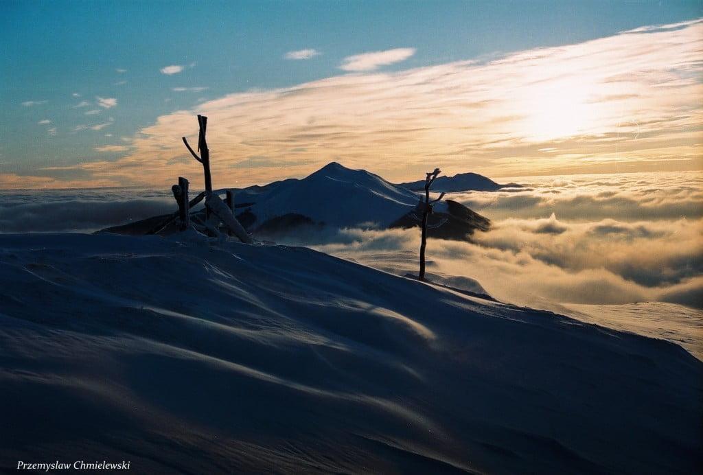 Bieszczady zima /fot. Przemysław Chmielewski