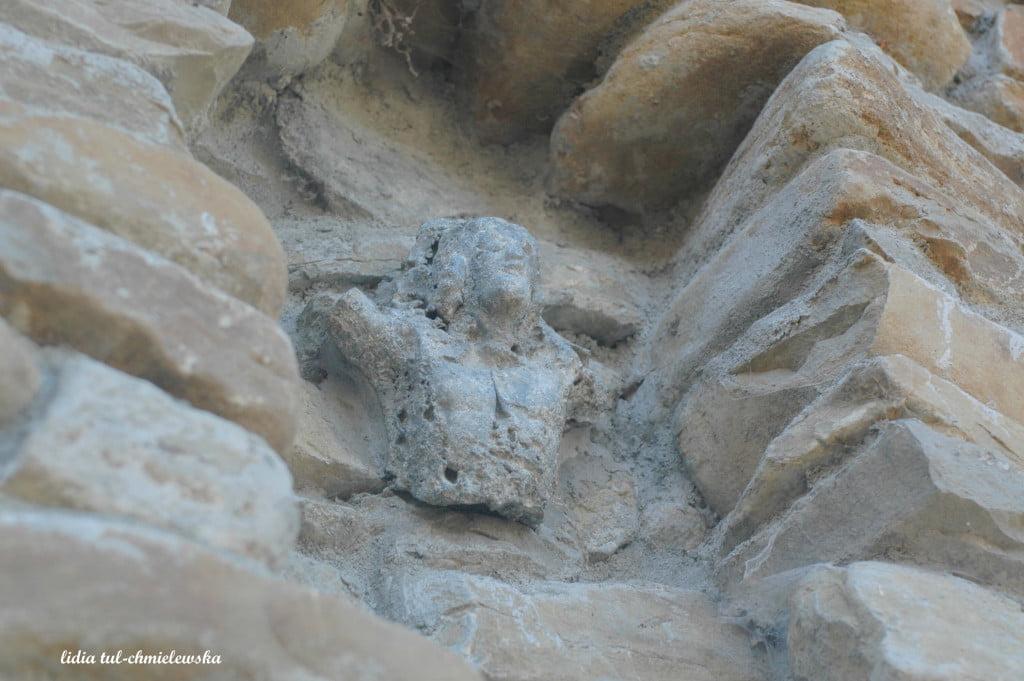 Fragment figury Chrystusa w Rajskiem / fot. Lidia Tul-Chmielewska