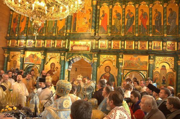cerkiew prawosławna w Komańczy fot/Lidia Tul-Chmielewska
