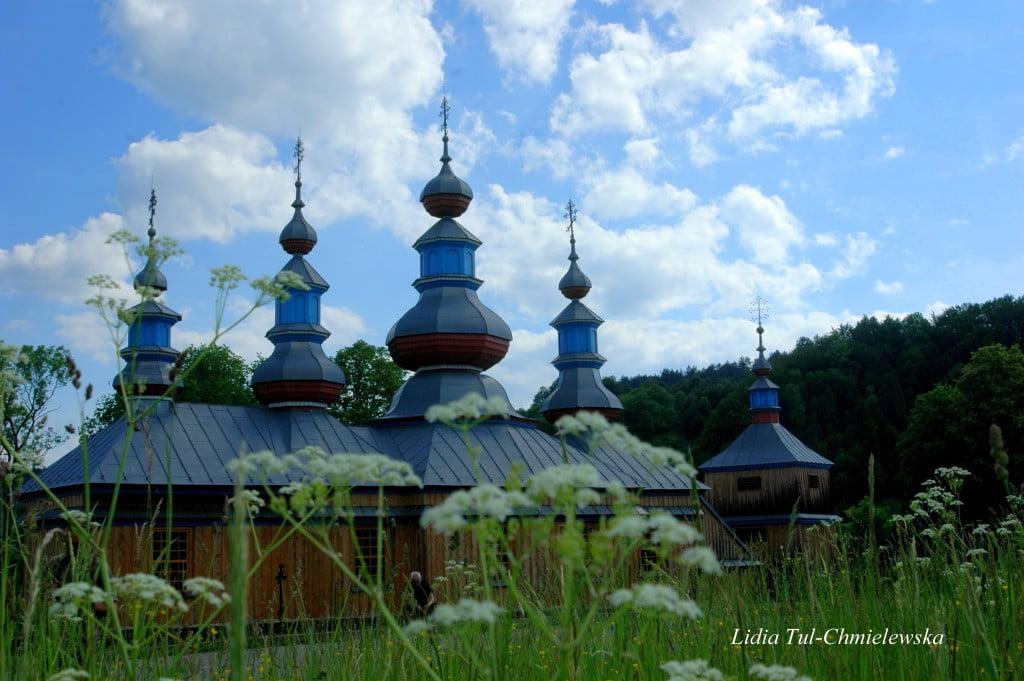 Cerkiew prawosławna w Komańczy fot. /Lidia Tul-Chmielewska