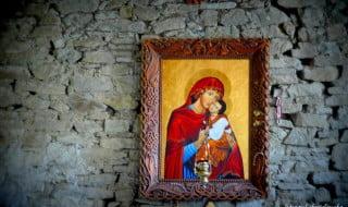 Ikona Matki Bożej Łopieńskiej fot/Lidia Tul-Chmielewska