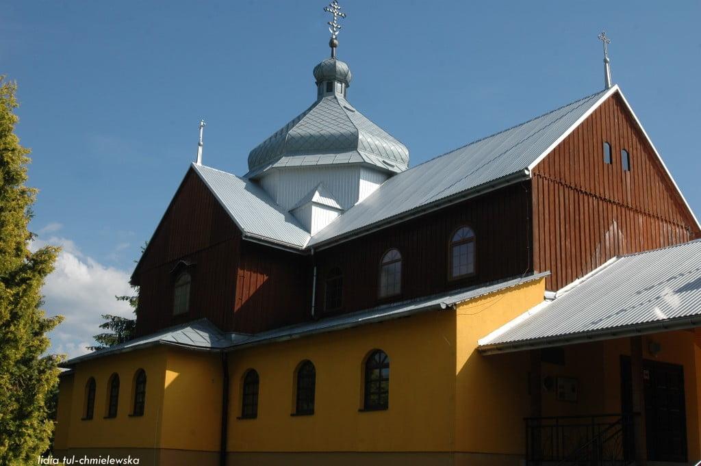 cerkiew grekokatolicka w Komańczy fot/Lidia Tul-Chmielewska