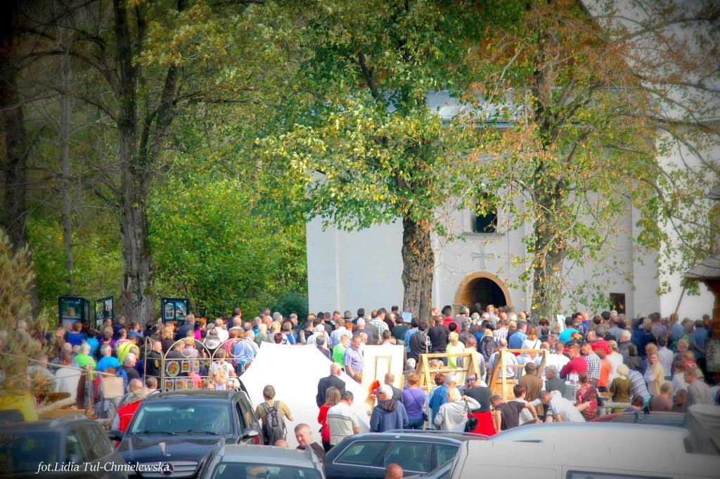 cerkiew w Łopience fot/Lidia Tul-Chmielewska