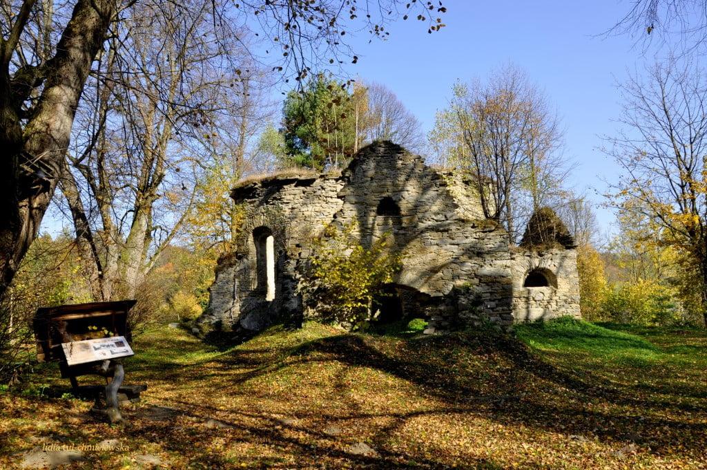 Ruiny cerkwi w Berezce fot./Lidia Tul-Chmielewska