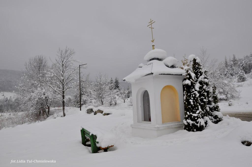 Kapliczka w Bóbrce fot./Lidia Tul-Chmielewska