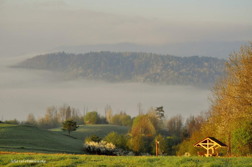 Panorama z Plisza fot./Lidia Tul-Chmielewska