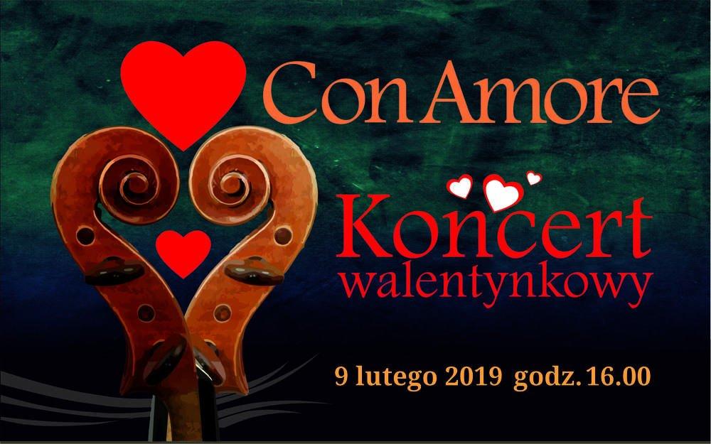 con amore koncert walentynkowy