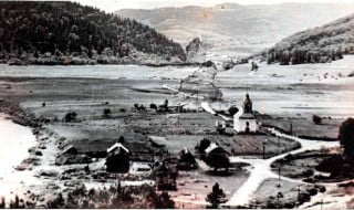 Zburzony Kościół w Wołkowyi /fot. archiwum