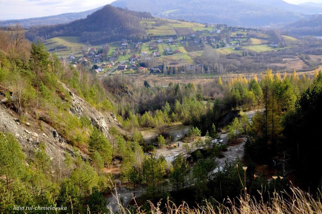 Widok z kamieniołomu w Bóbrce fot/Lidia Tul-Chmielewska
