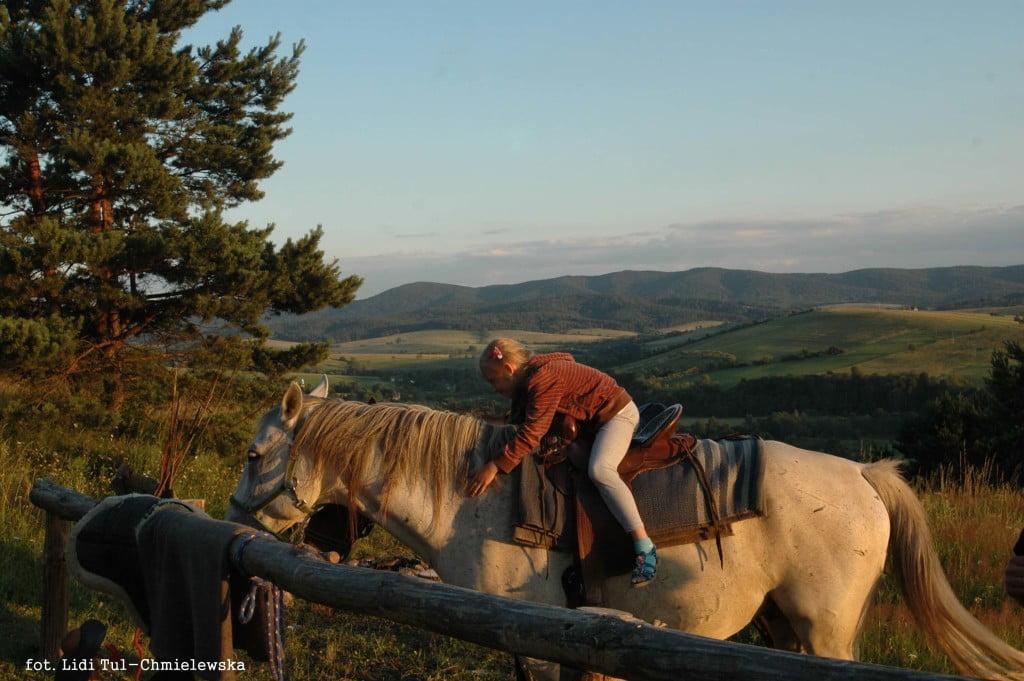Wakacje w Bieszczadach na koniu / fot. Lidia Tul-Chmielewska