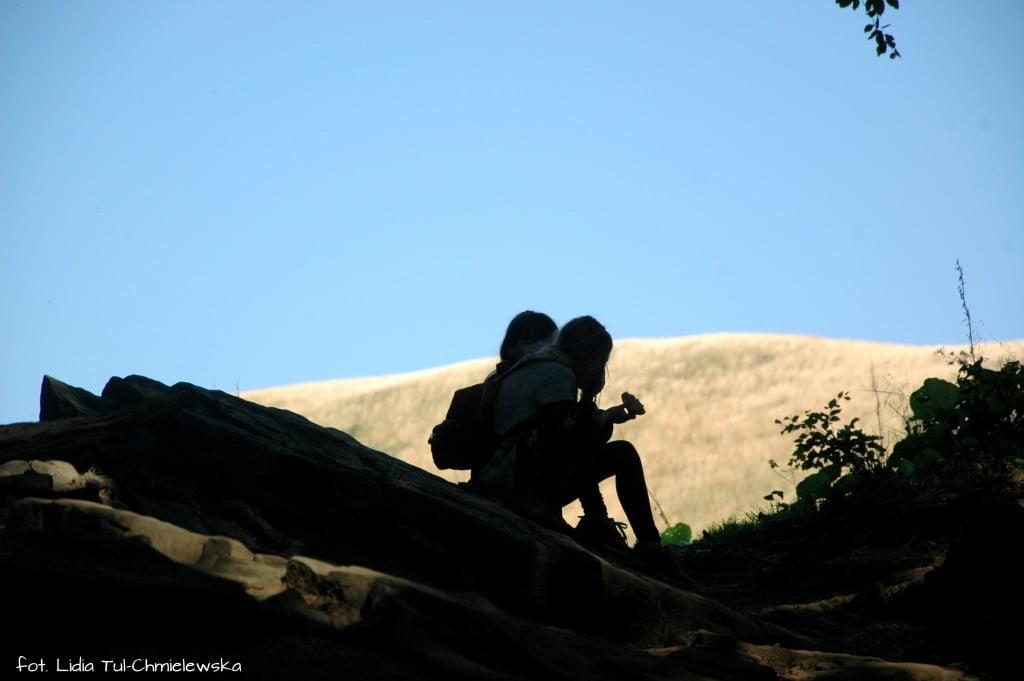 Przed wyjściem z lasu- fot. Lidia Tul-Chmielewska