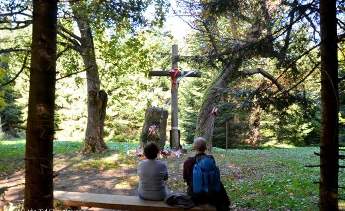 Leśniczówka Brenzberg miejsce pamięci fot. Lidia Tul-Chmielewska