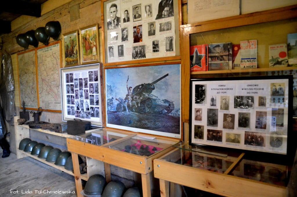 Ekspozycje w pawilonie w Zyndranowej fot. Lidia Tul-Chmielewska