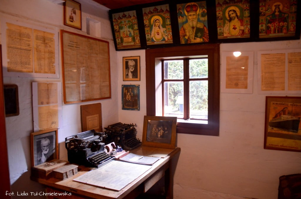 Muzeum Kultury Łemkowskiej - wnętrze chałupy fot. Lidia Tul-Chmielewska