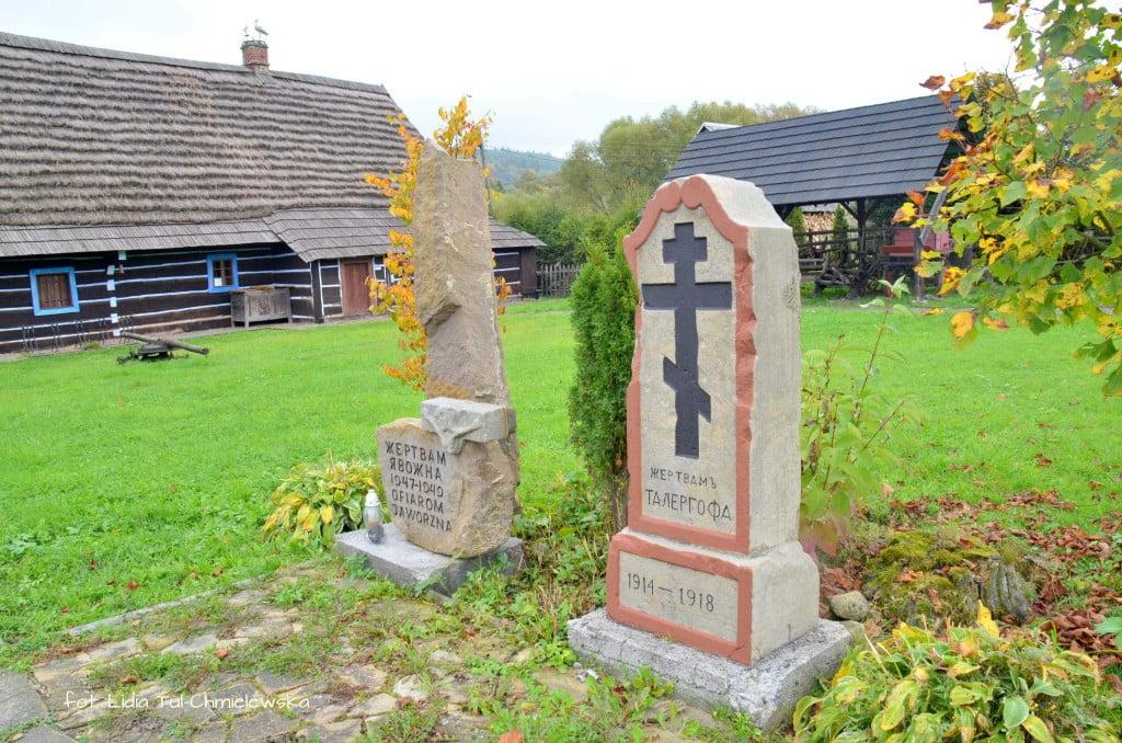 Muzeum w Zyndranowej kapliczki i krzyże fot. Lidia Tul-Chmielewska