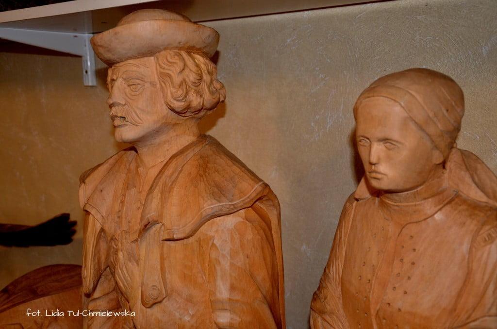 Rzeźby łemkowskie fot. Lidia Tul-Chmielewska