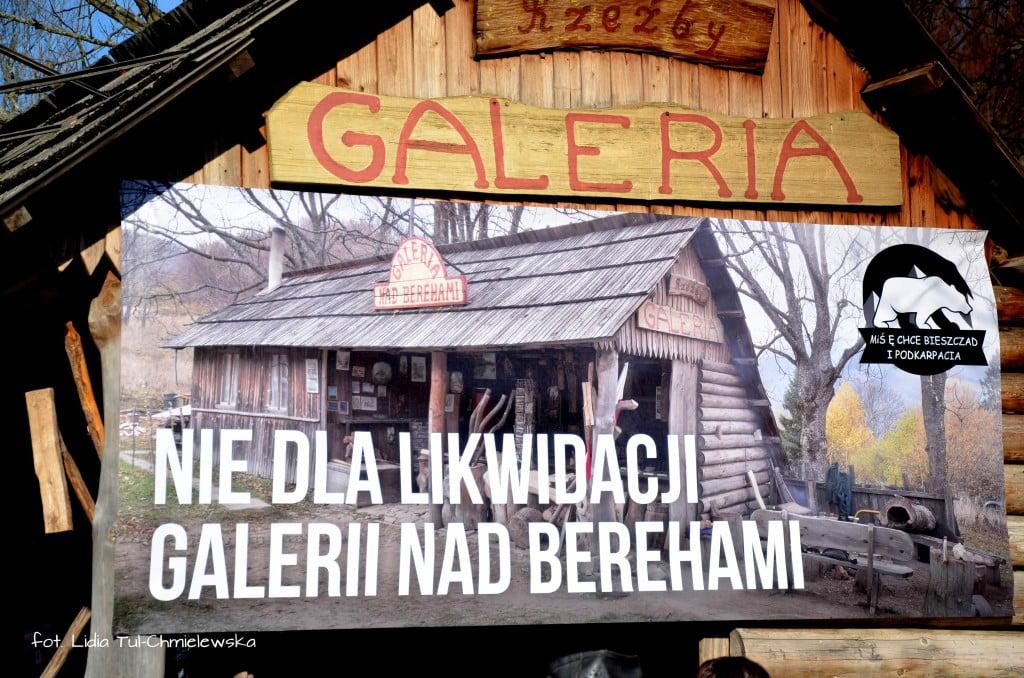 Sprzeciw rozebraniu Galerii nad Berehami fot. Lidia Tul-Chmielewska