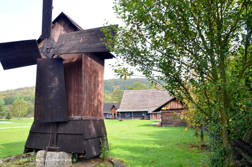 Zyndranowa Muzeum wiatrak fot. Lidia Tul-Chmielewska
