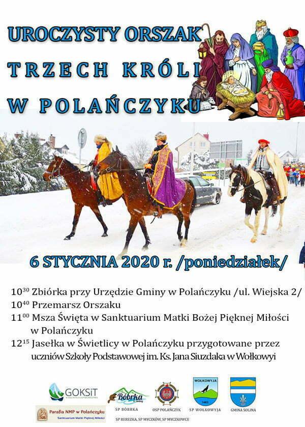 Trzech_Kroli w Polanczyku