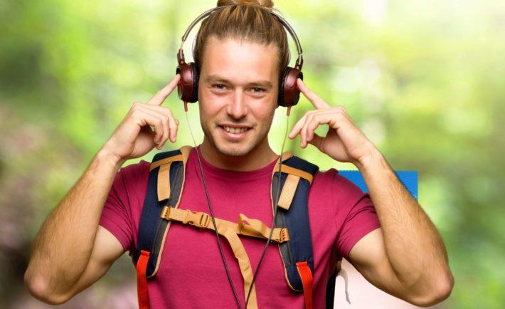 Z audiobookiem w Bieszczadach