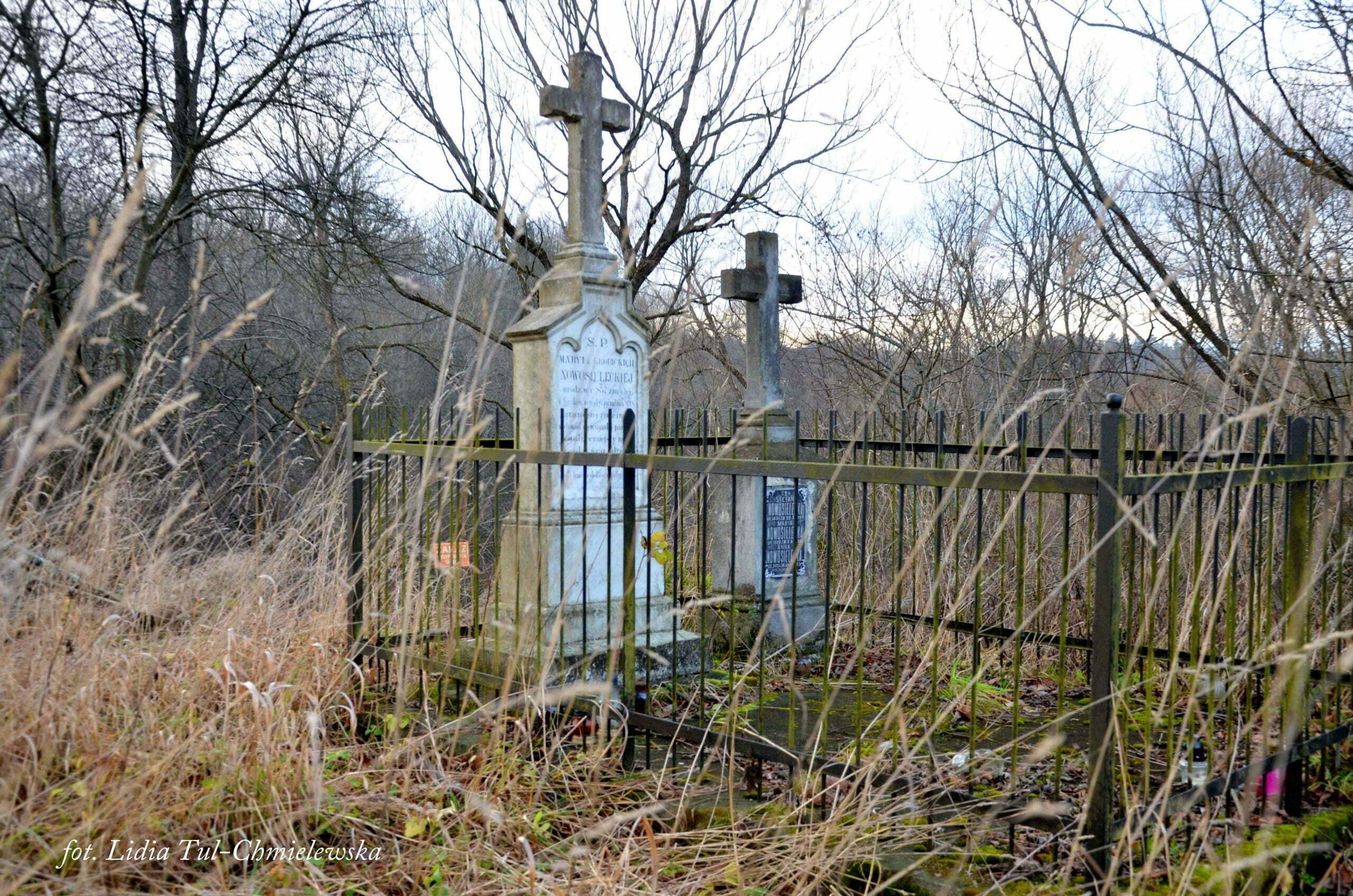 Wojtkowa, stary cmentarz / fot. Lidia Tul-Chmielewska