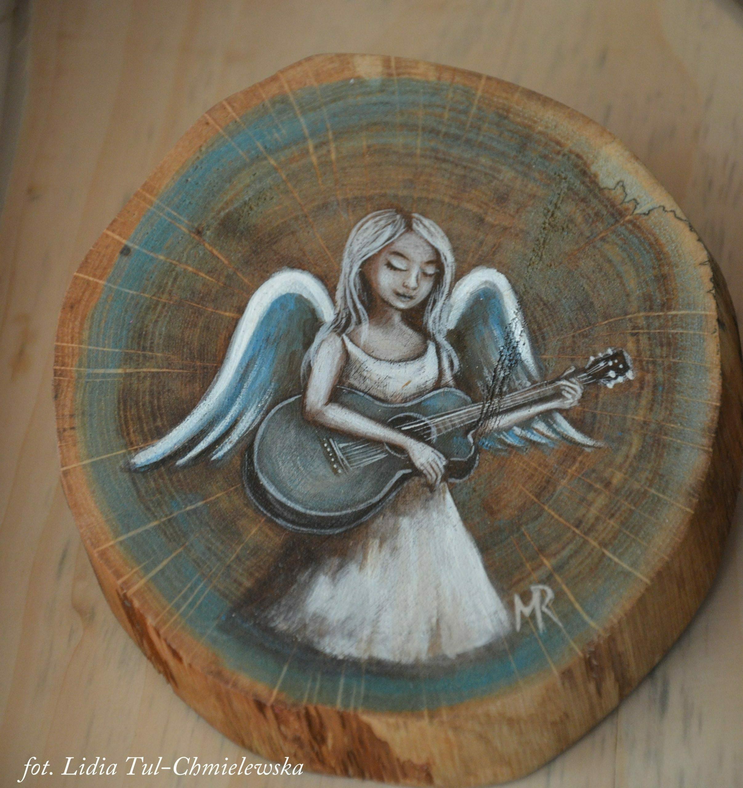 Anioł z gitarą / fot. Lidia Tul-Chmielewska