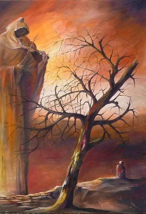 Mroczne Anioły galeria Robert Myszkal