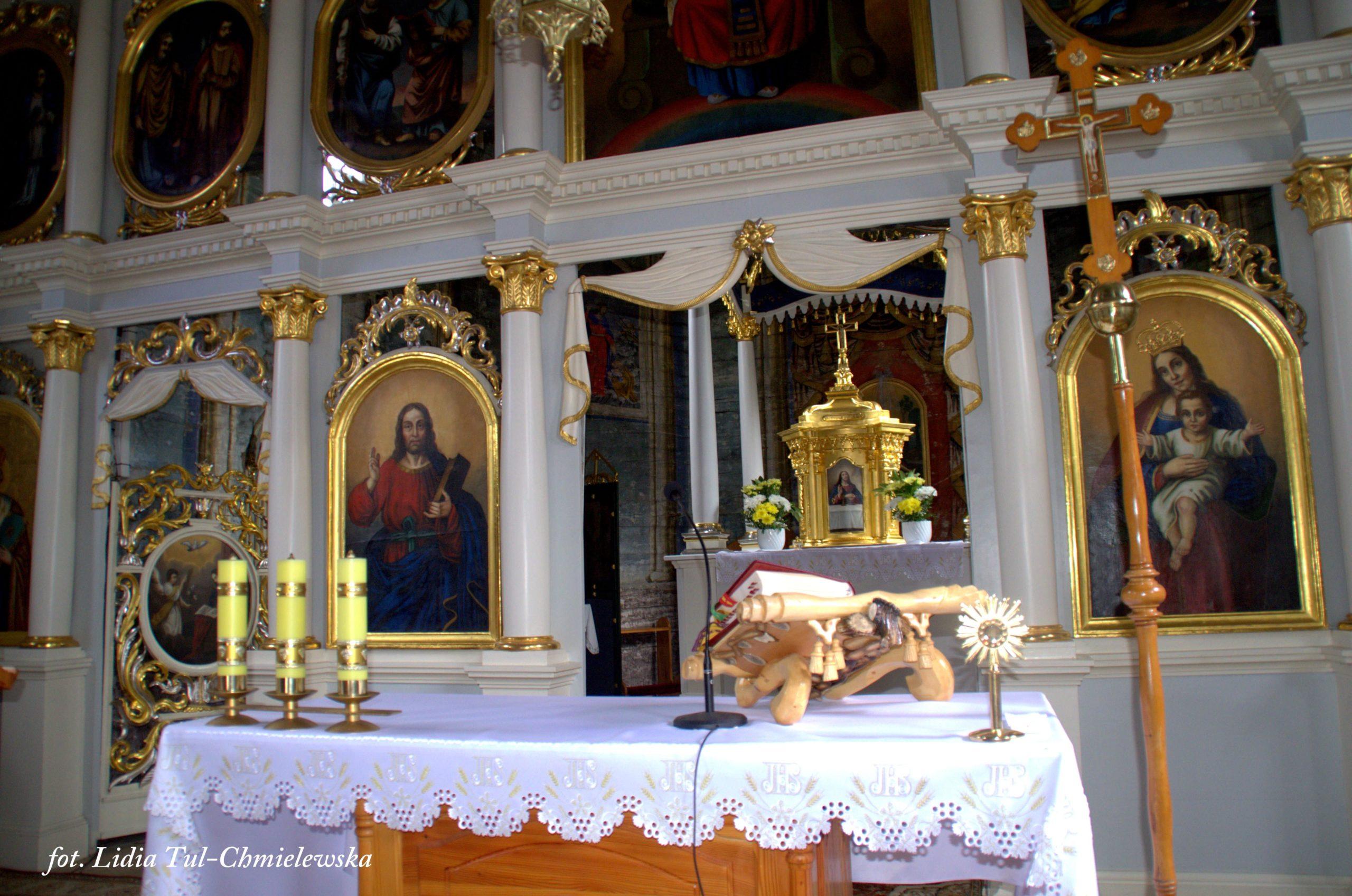 Niekanoniczny ikonostas w Wisłoku Wielkim / fot. Lidia Tul-Chmielewska