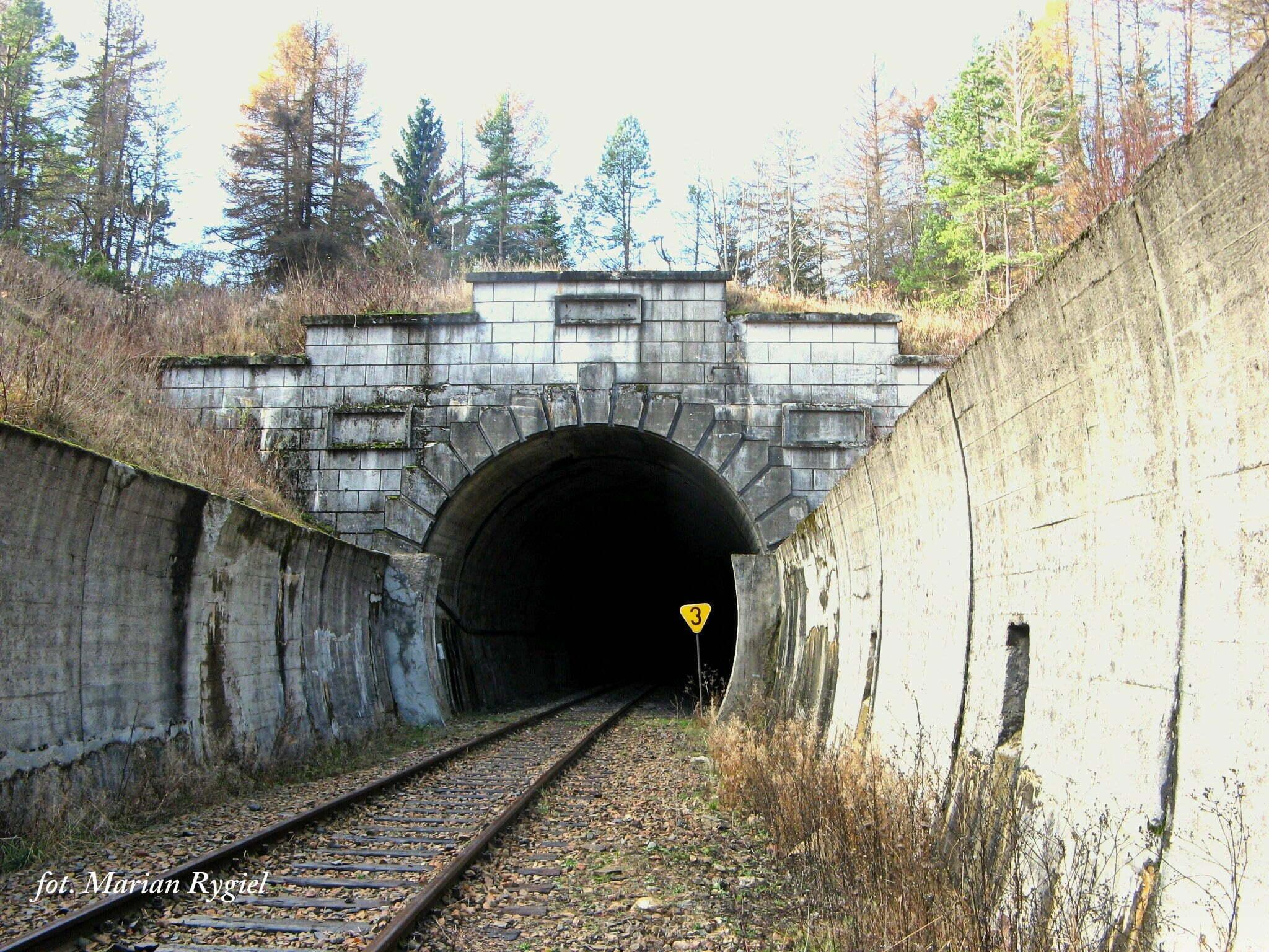 Tunel w Łupkowie / fot. Marian Rygiel