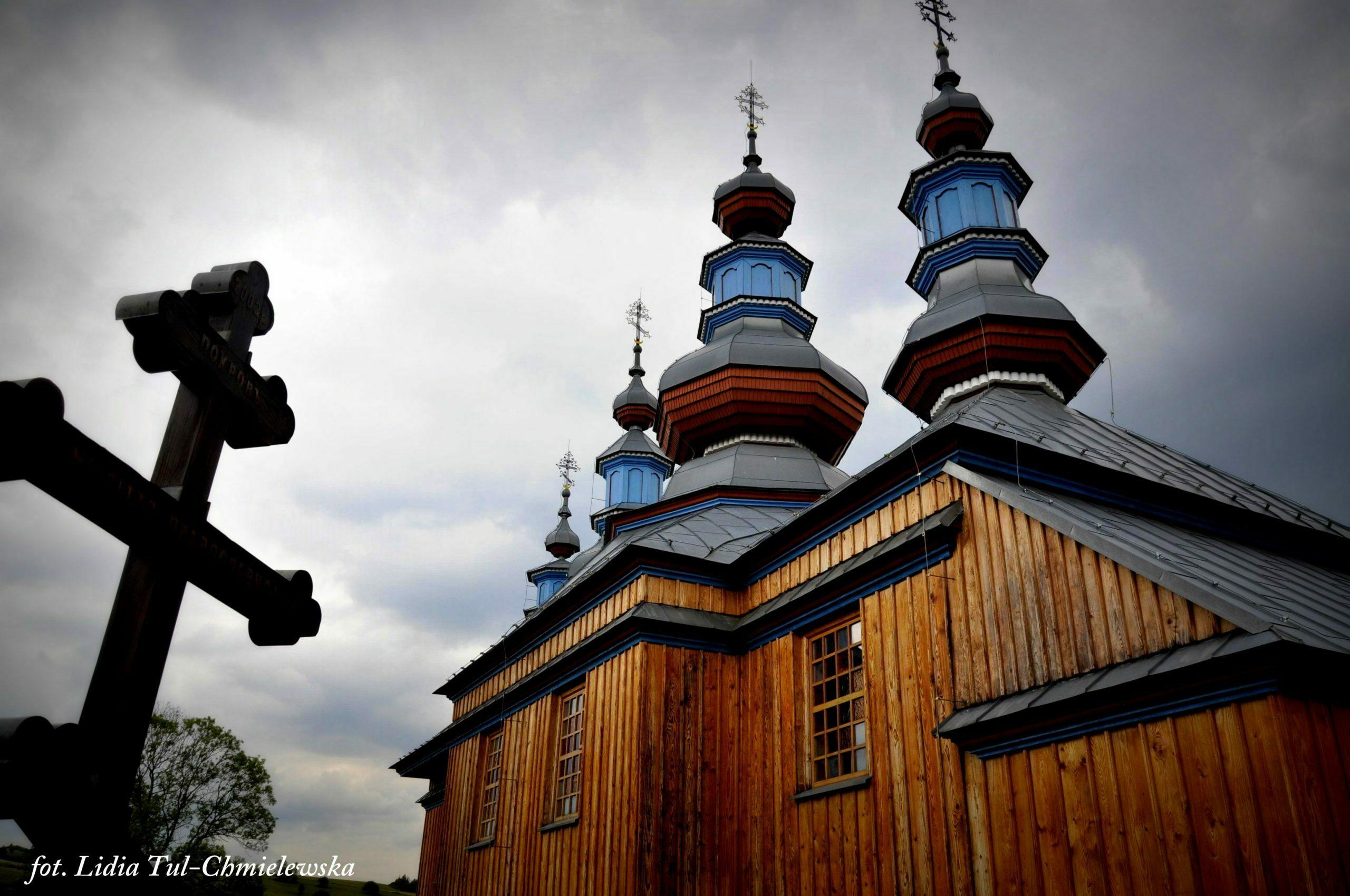 Cerkiew w Komańczy / fot. Lidia Tul-Chmielewska
