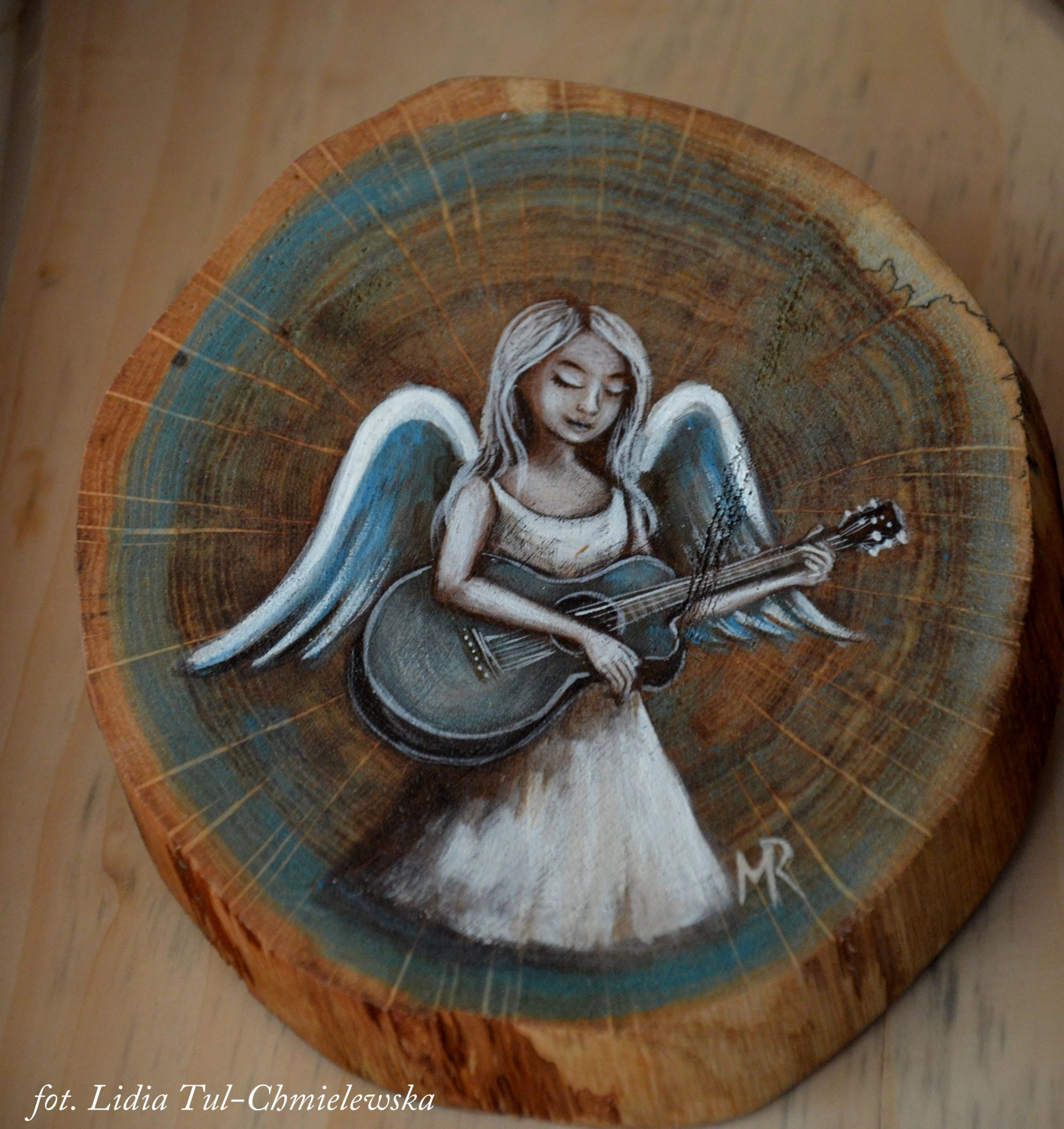Aniołomania Bieszczadzki Anioł /fot. Lidia Tul-Chmielewska