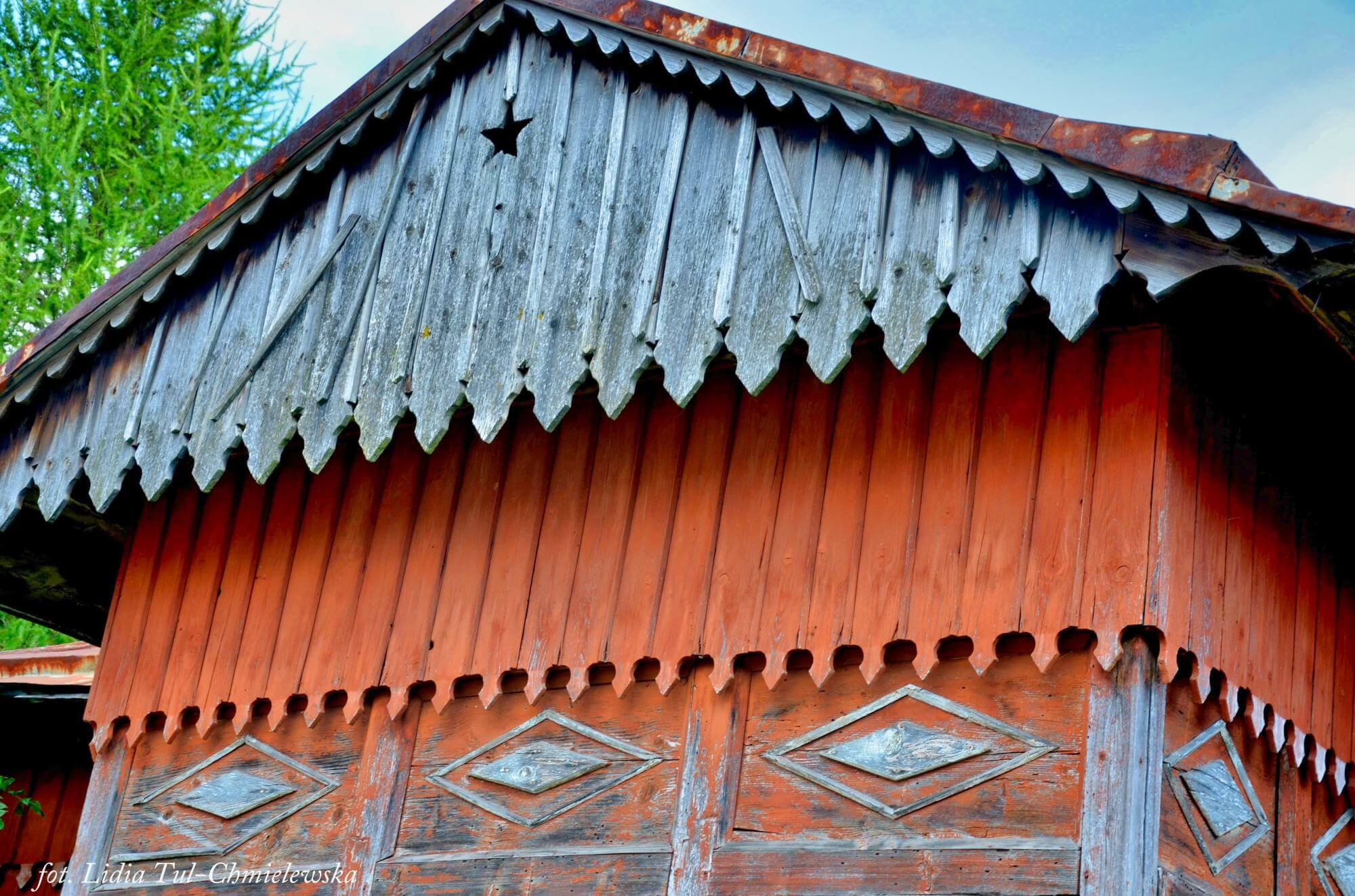Drewniana architektura, Jaśliska / fot. Lidia Tul-Chmielewska