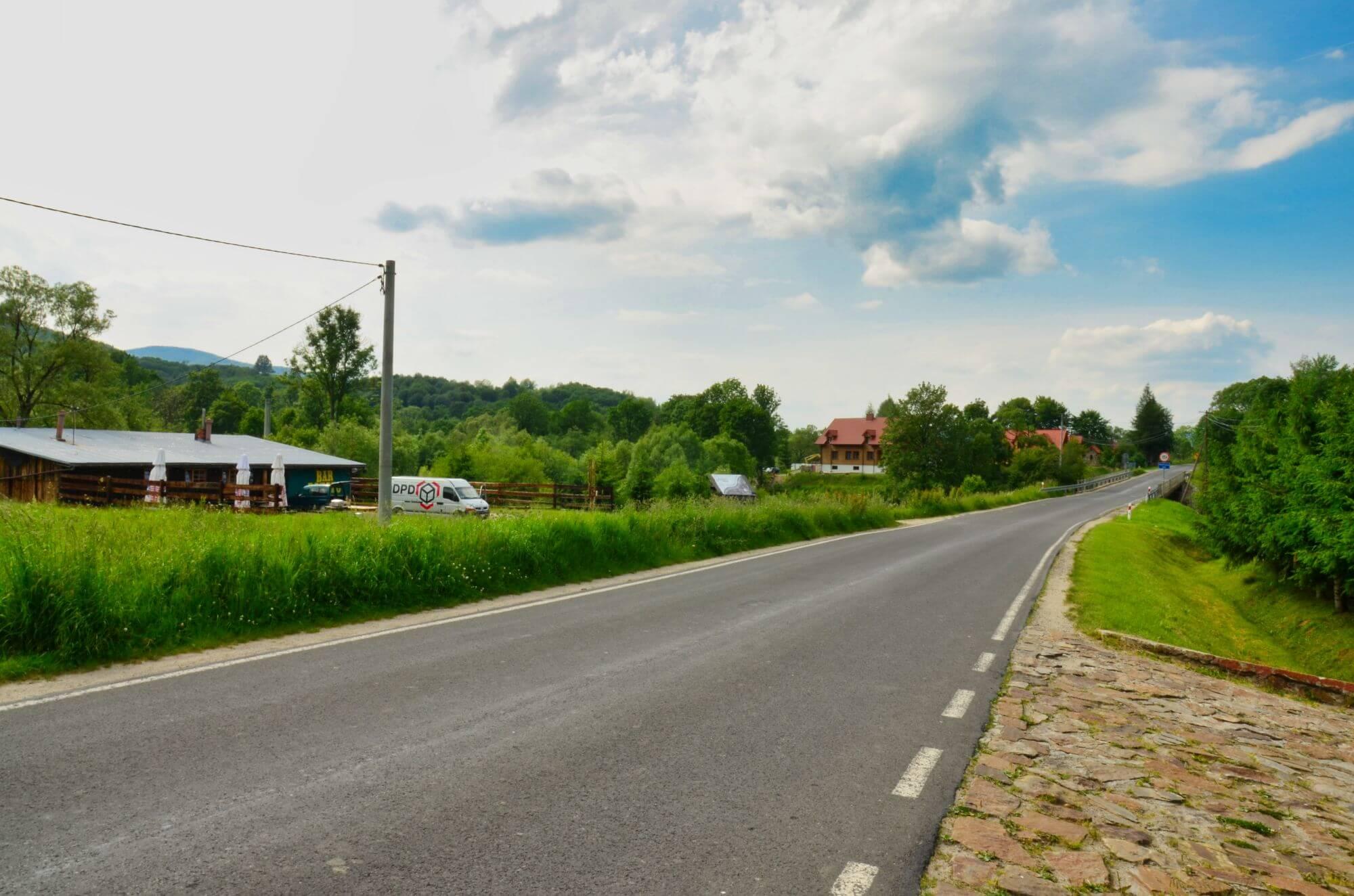 Droga w Wetlinie