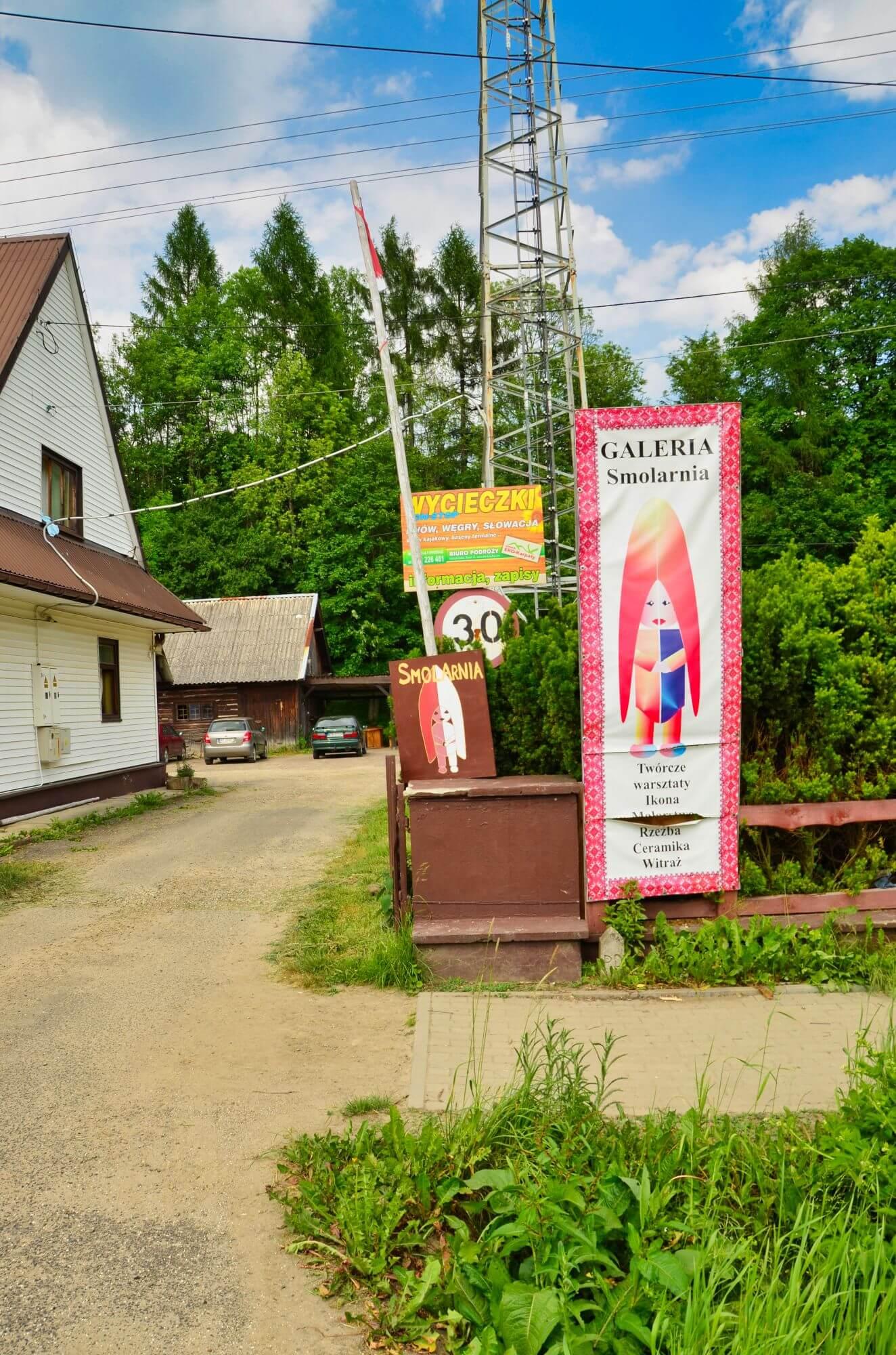 Galeria Smolarnia, Wetlina