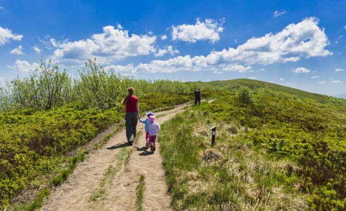 W Bieszczadach z bonu turystycznego skorzystamy w wielu ośrodkach / fot. shutterstock.com