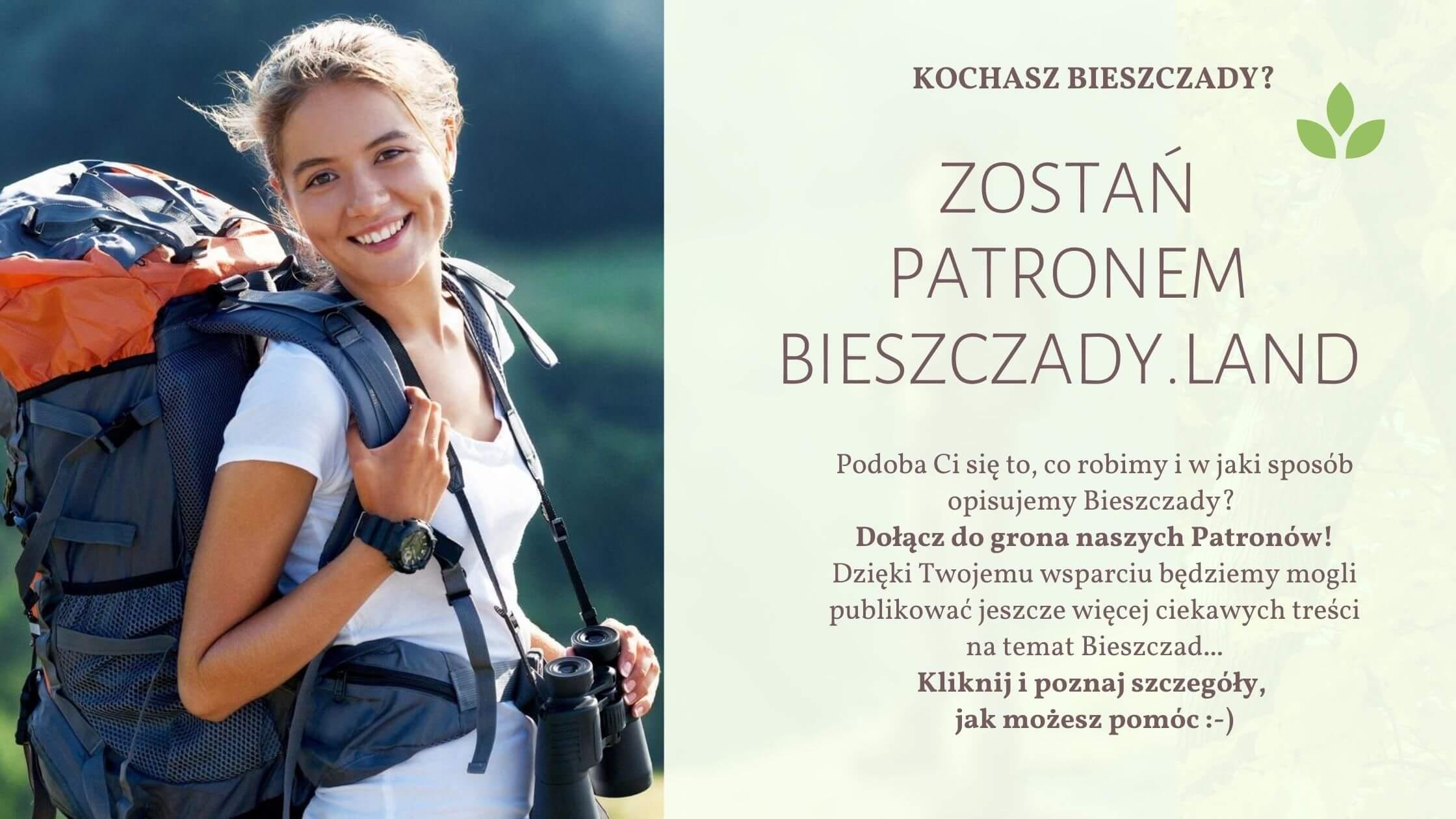 Zostań patronem portalu Bieszczady.Land