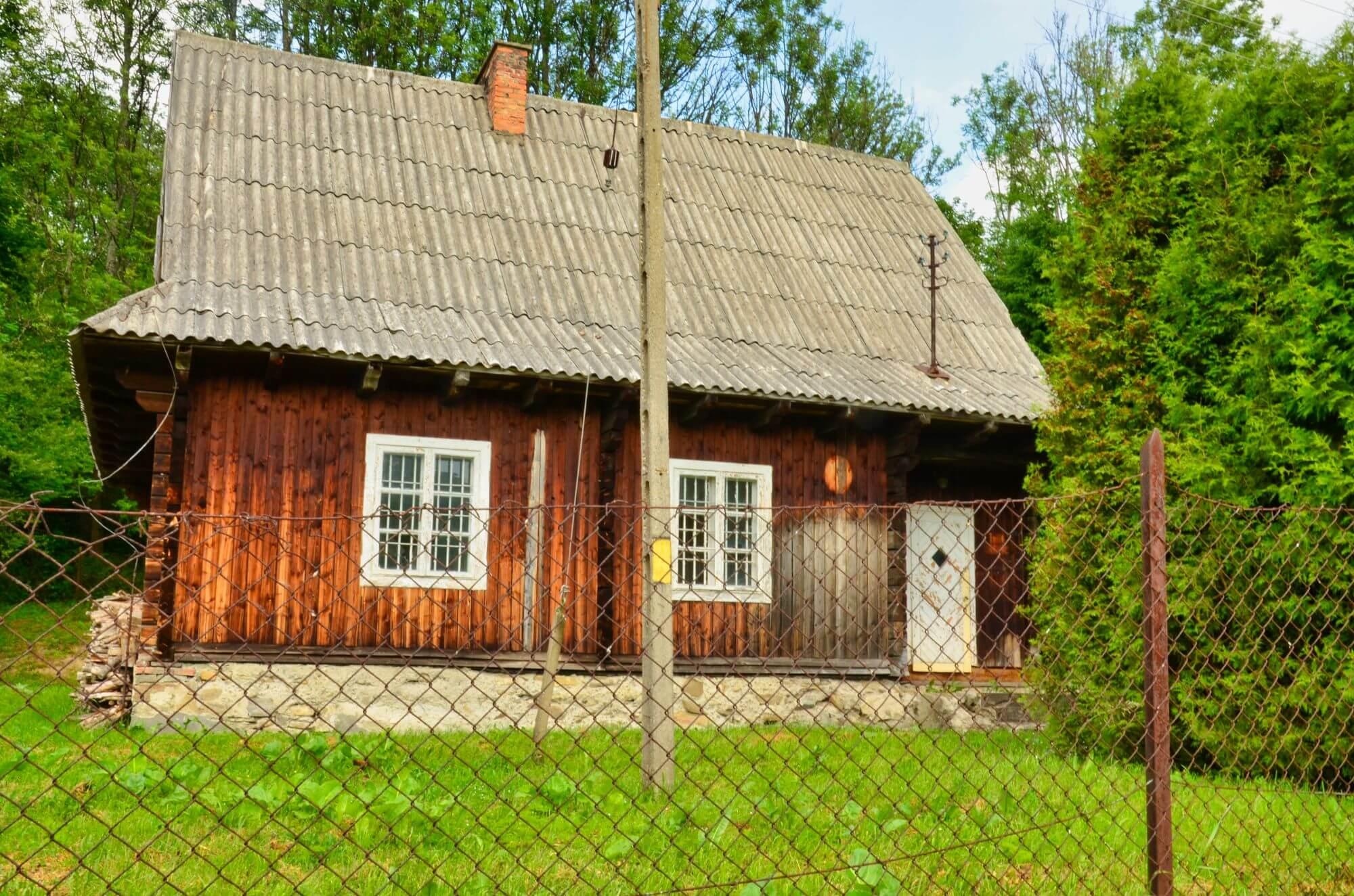 Budynek starej poczty w Wetlinie