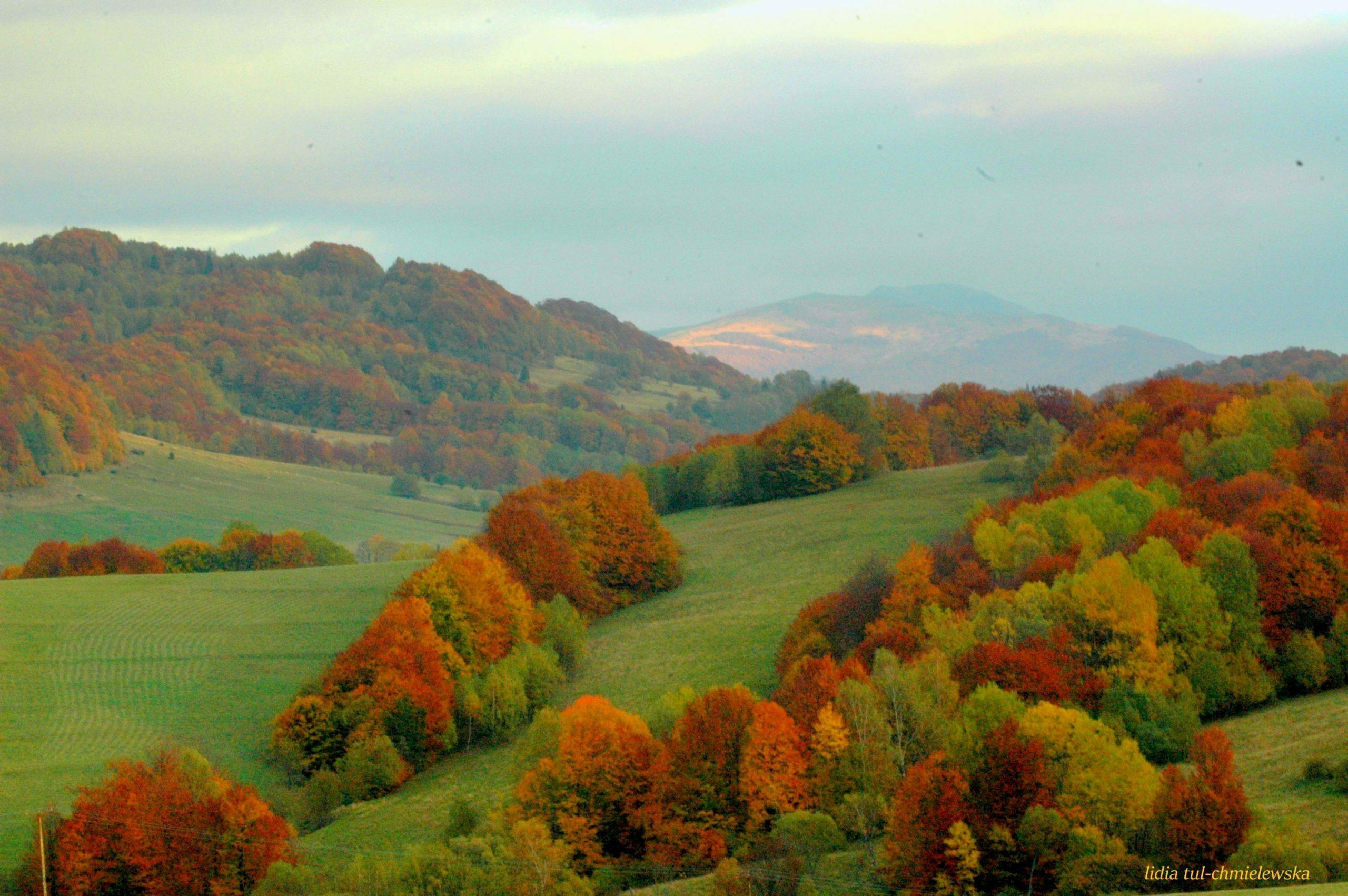 Bieszczady na jesień fot. Lidia Tul-Chmielewska