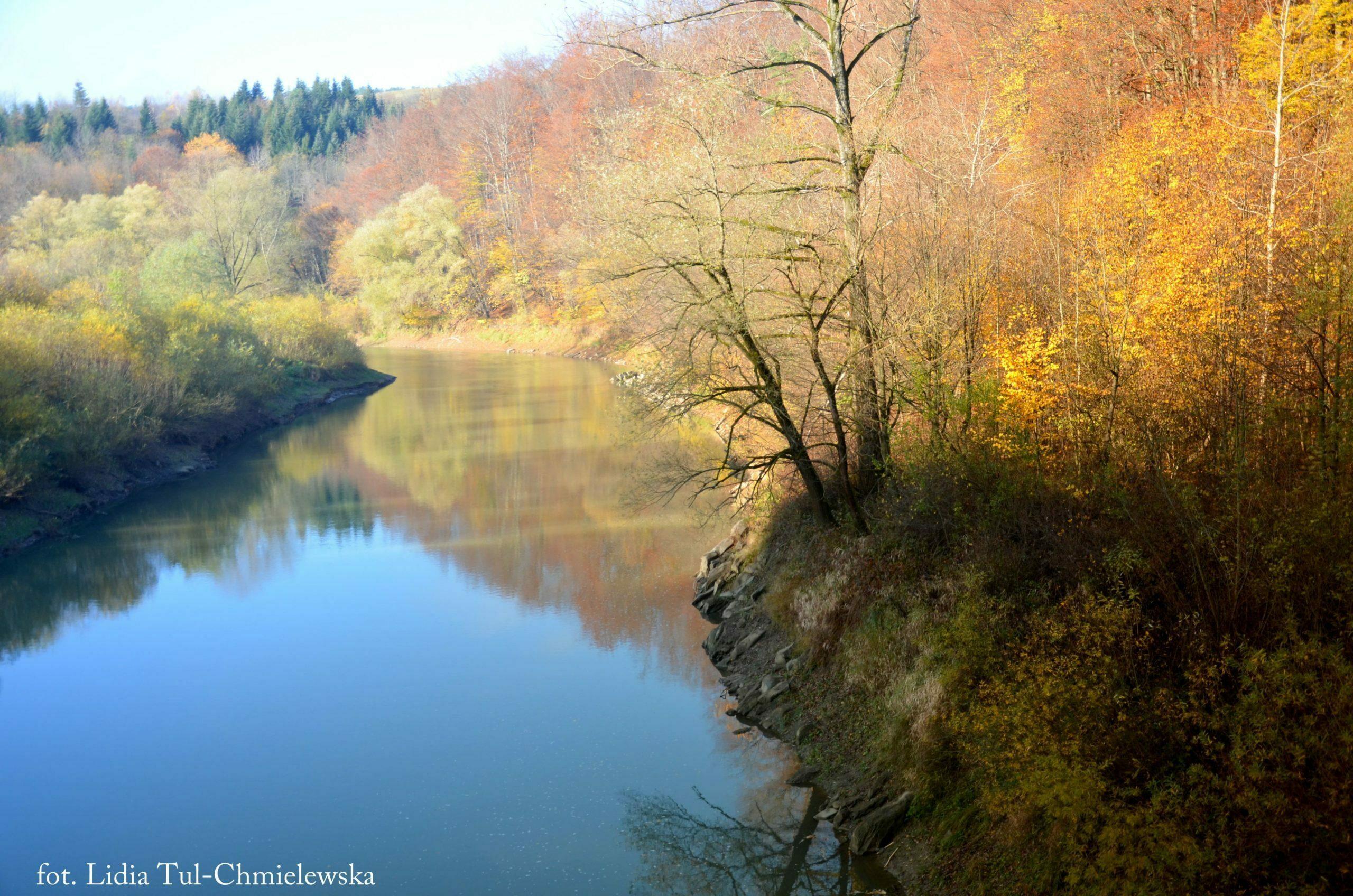 Barwy jesiennych Bieszczadów fot. Lidia Tul-Chmielewska