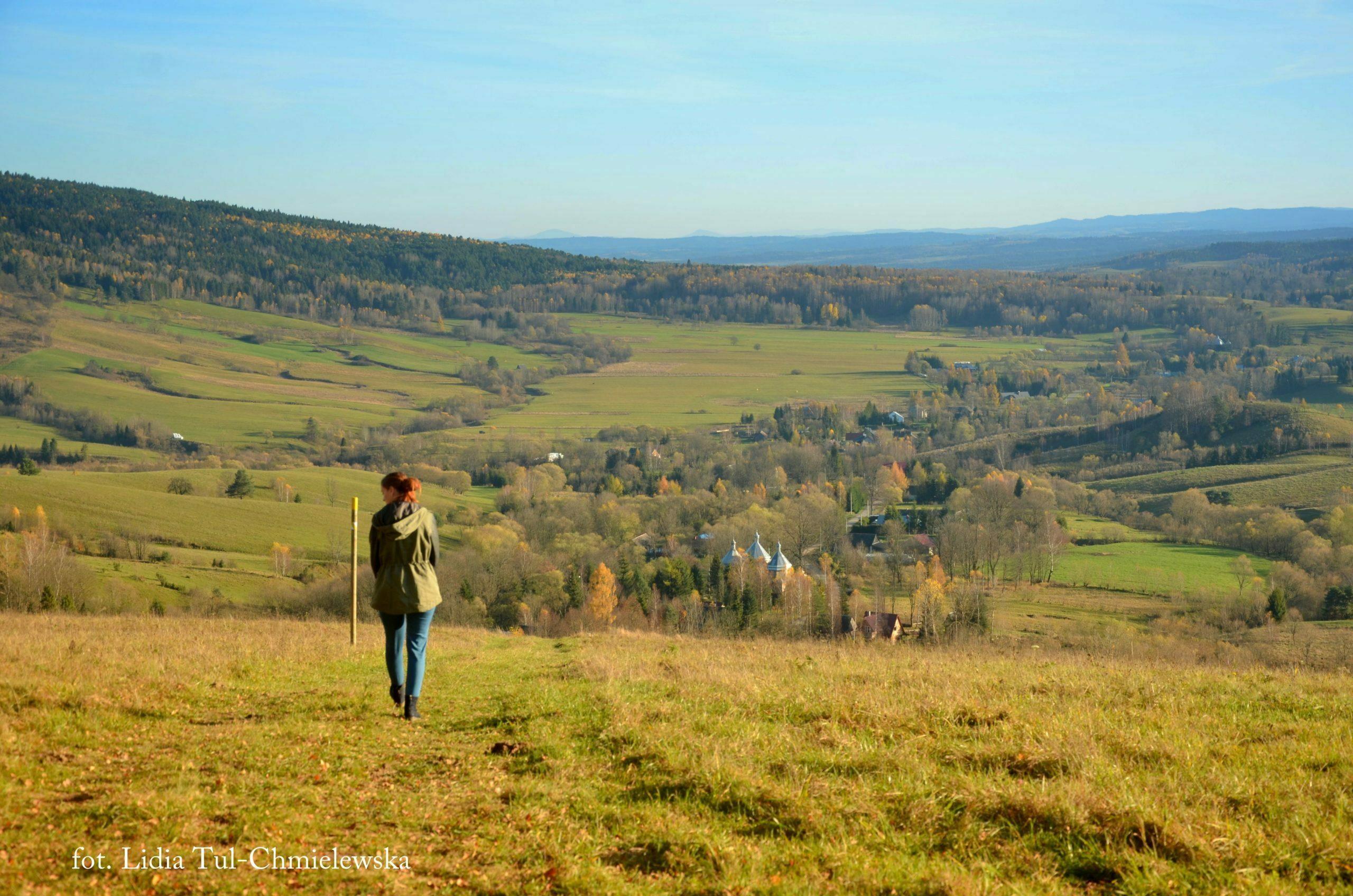 Listopad doskonały miesiącna spacer w Bieszczadach fot. Lidia Tul-Chmielewska