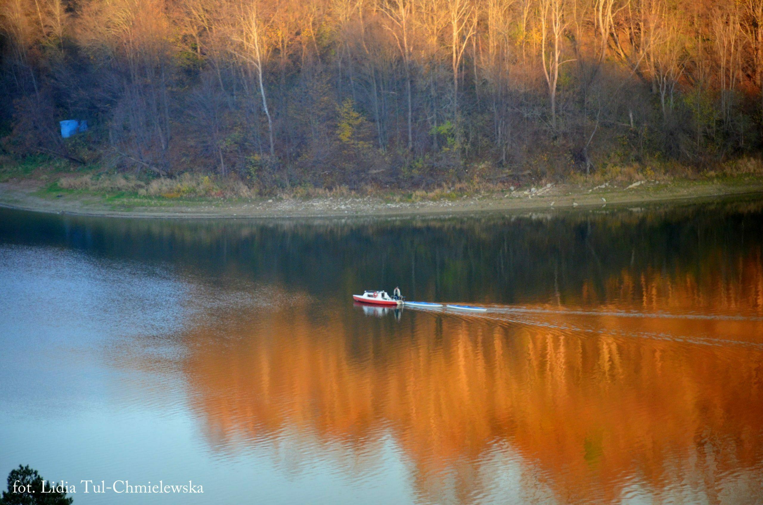 Spokój listopadowy w Bieszczadach fot. Lidia Tul-Chmielewska