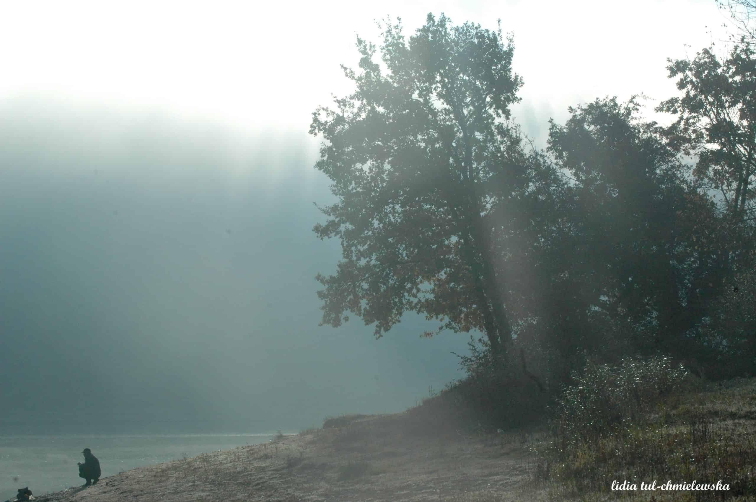 Zalew Soliński i cisza jesienna fot. Lidia Tul-Chmielewska